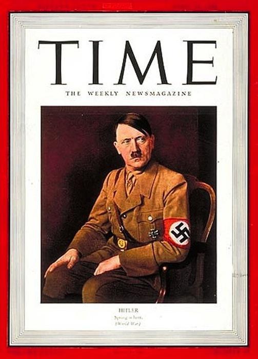 Адольф Гитлер в многообразии поглощённый своими идеями.