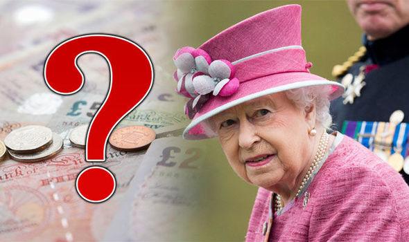 Queen Elizabeth 2 and money