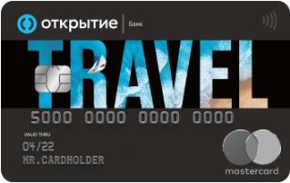 Дебетовая карта TRAVEL OPENCARD от банка Открытие