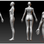 3D модель кино 2