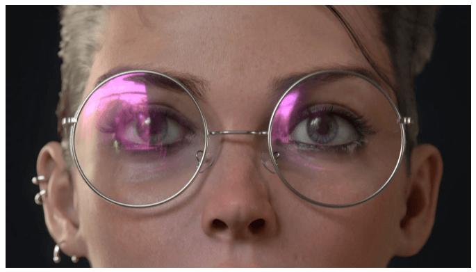 3D пример работы Портрет Евы