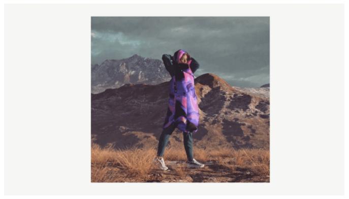 Пример будущих реалистичных digital коллекций одежды 5