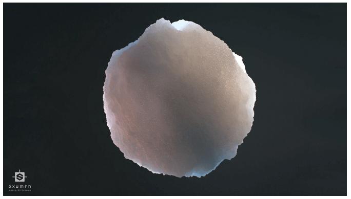 3Д модель первый снег