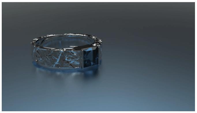 Ювелирное украшение 3D пример 3