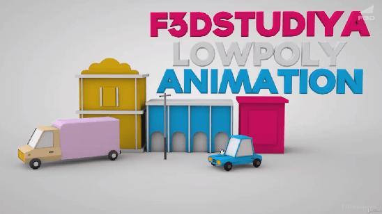Low Poly моделирование и анимация в Cinema 4D